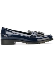 Tod's Tassel Loafers Blue