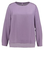 Triangle Blouse Smoky Lavender Lilac