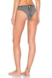 Fleur Du Mal Lace Back Bikini Bottom Black