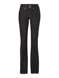 Salsa Secret Push In Bootcut Jeans In Rinse Denim Rinse