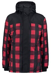 Your Turn Active Snowboard Jacket Scarlet Red