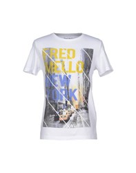 Fred Mello Topwear T Shirts Men White