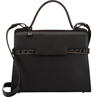 Delvaux Tempete Mm Satchel Black