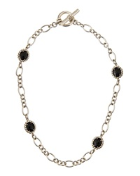 Slane Nuage Station Necklace W Onyx