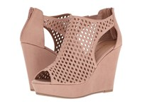 Chinese Laundry Indie Dark Nude Women's Wedge Shoes Pink