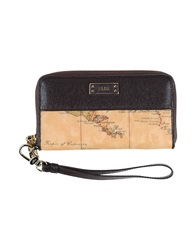 Alviero Martini 1A Classe Wallets Dark Brown