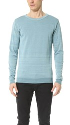 S.N.S. Herning Initiation Crew Neck Sweater Mint Blue