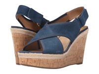 Franco Sarto Taylor Teal Women's Wedge Shoes Blue