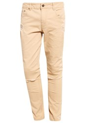 Your Turn Slim Fit Jeans Beige