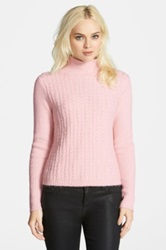 Chelsea 28 Textured Turtleneck Pink