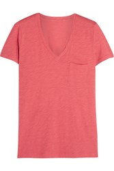 Madewell Whisper Cotton Jersey T Shirt Coral