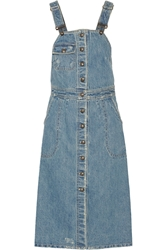 Sea Denim Overalls Dress