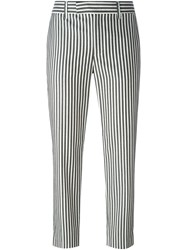 Paul By Paul Smith Slim Fit Striped Trousers Black