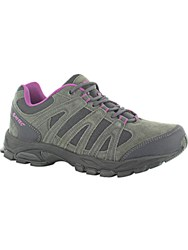 Hi Tec Alto Waterproof Walking Shoes Charcoal