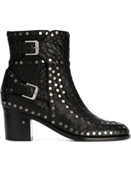 Laurence Dacade Studded Ankle Boots Black