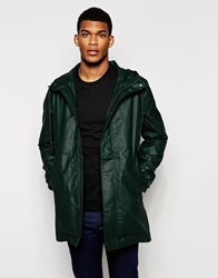 United Colors Of Benetton Waxed Parka Green