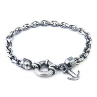 Anchor And Crew Silver Salcombe Bracelet