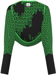 Opening Ceremony Shrug Cardigan Green