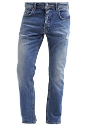 Ltb Paul Straight Leg Jeans Tevin Wash Blue Denim