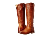 Frye Paige Tall Riding Cognac Antique Pull Up Women's Pull On Boots Brown