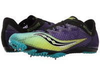 Saucony Endorphin Purple Citron Black Men's Running Shoes