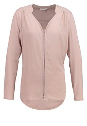 Opus Fronia Long Sleeved Top Misty Rose