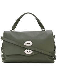 Zanellato Small 'Postina' Satchel Green