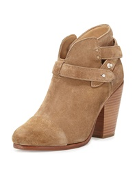 Rag And Bone Rag And Bone Harrow Suede Ankle Boot Camel