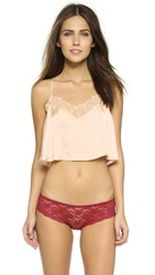 Free People Eclipse Cropped Camisole Vanilla