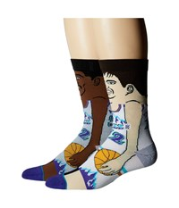 Stance J. Stockton K. Malone Purple Men's Crew Cut Socks Shoes