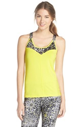 Lija 'V Is For Victory' Tank Lemon Print