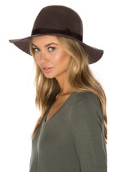 Brixton Dalila Hat Chocolate Brown