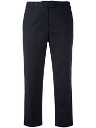 Michael Michael Kors Cropped Trousers Blue
