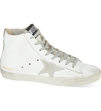 Golden Goose Francy High Top Trainers White