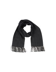 Dolce And Gabbana Accessories Oblong Scarves Men Black
