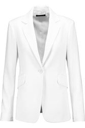 Theory Brixmill Stretch Crepe Blazer Off White