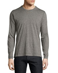 Robert Graham Burnsell Knit Crewneck Shirt Charcoal Grey
