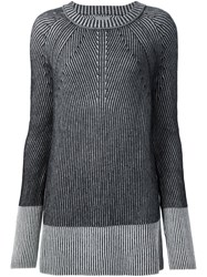 Maiyet Raglan Knit Jumper Black