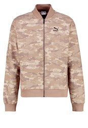Puma Summer Jacket Taupe Gray Camouflage Brown
