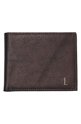 Cathy's Concepts Personalized Bifold Wallet Brown