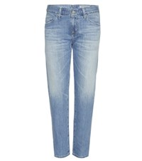 Ag Jeans The Ex Boyfriend Slim Cropped Blue
