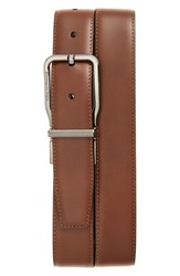 Ermenegildo Zegna Men's Reversible Calfskin Leather Belt