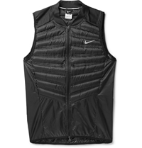Nike Aeroloft Running Down Filled Quilted Gilet Black