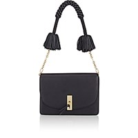 Altuzarra Women's Ghianda Flap Front Shoulder Bag Black Blue Black Blue