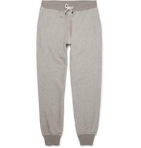 Brunello Cucinelli Cotton Blend Jersey Sweatpants Neutrals