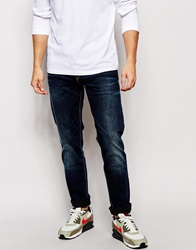 Pepe Jeans Hatch Slim Tapered Fit Blue Black Acid Wash Blueblack