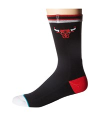 Stance Bulls Arena Logo Black Crew Cut Socks Shoes
