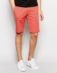 Hugo By Hugo Boss Smart Shorts In Cotton Pink