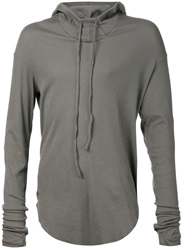 Lost And Found Hooded Top Grey