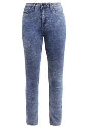 Lee Skyler Slim Fit Jeans Blue Cloud Moon Washed